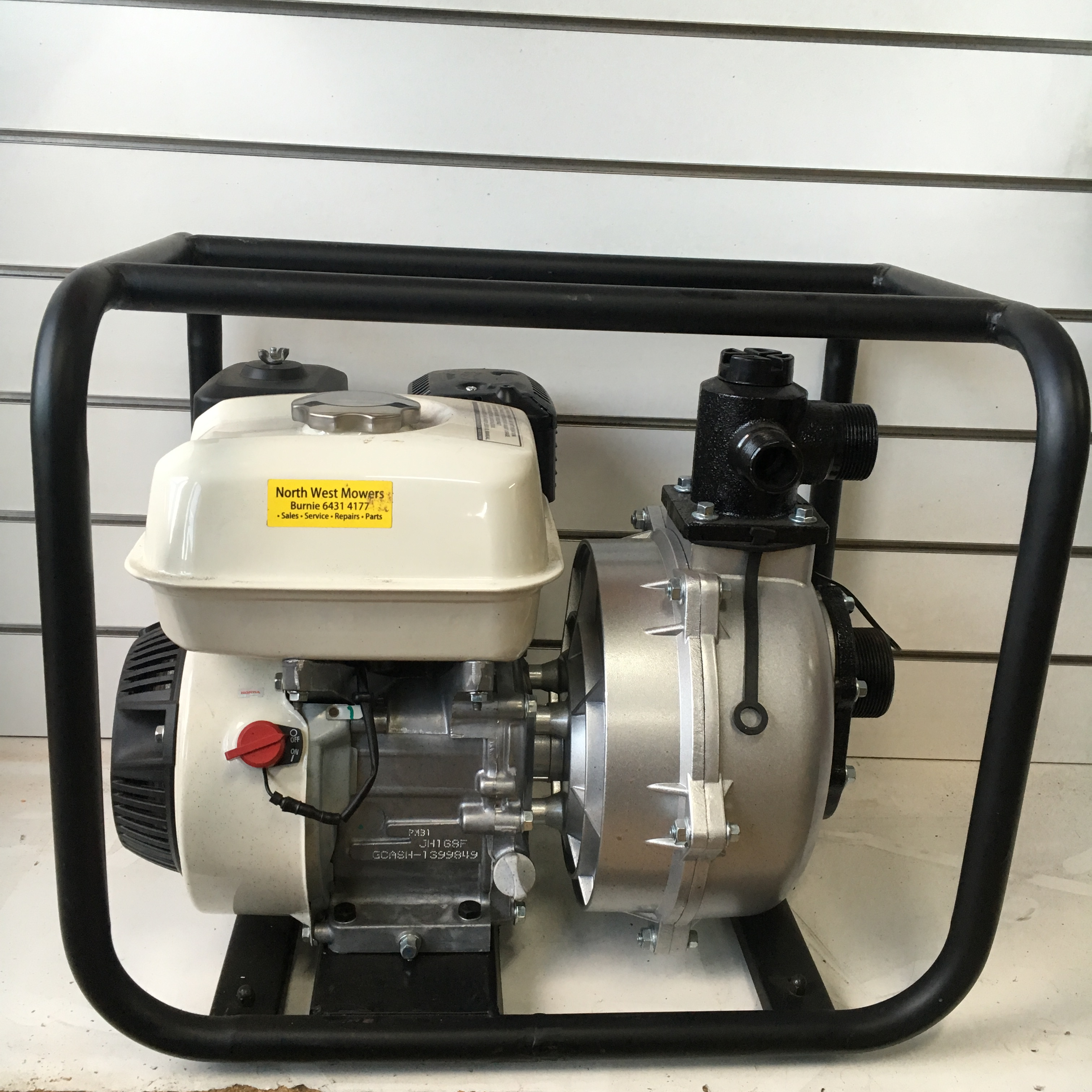 "Honda Powered Fire Fighter Pump 2"" Inlet - Outdoor Power Equipment Sales, Service & Repairs ..."
